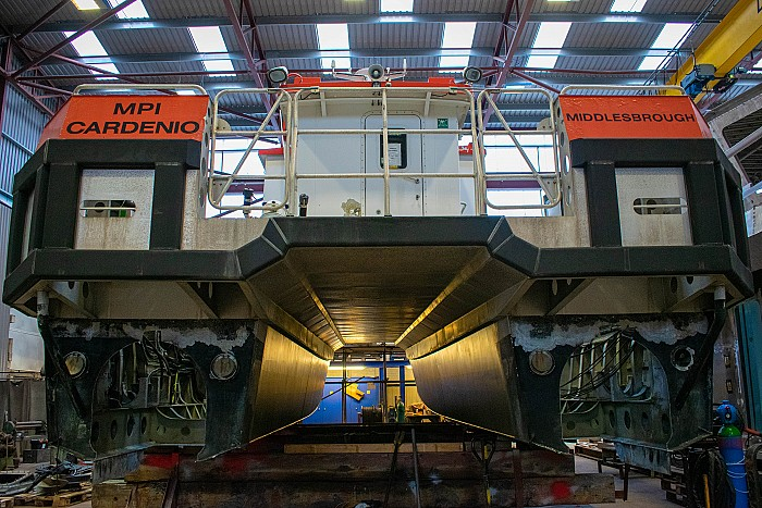 Manor Marine starts Modification and Refit Works on MRE's Manor Enterprise