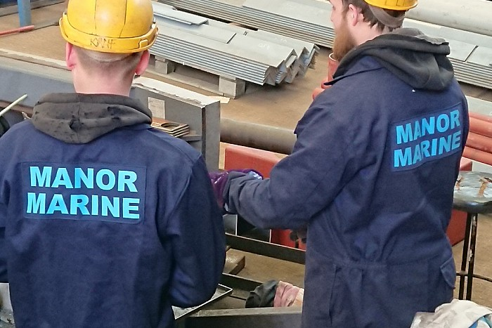 Manor Marine continues to invest in their successful Apprenticeship Programme